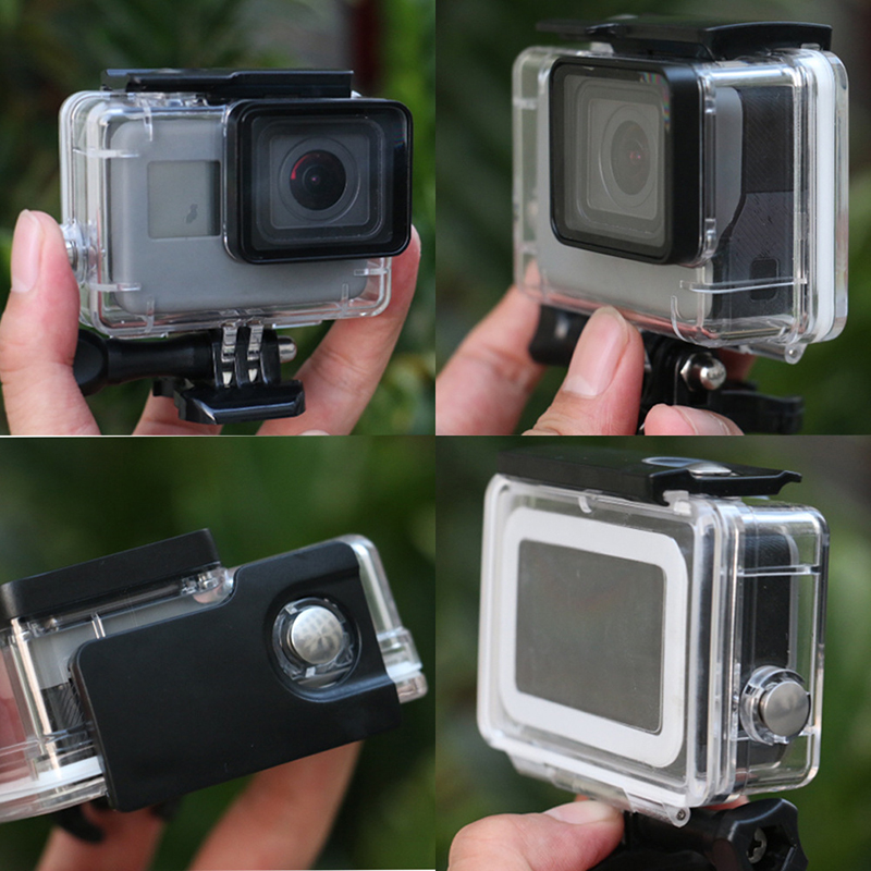 Transparent Waterproof Diving Shell Box Underwater Camera Housing Case Cover For Gopro Hero 5 4 3