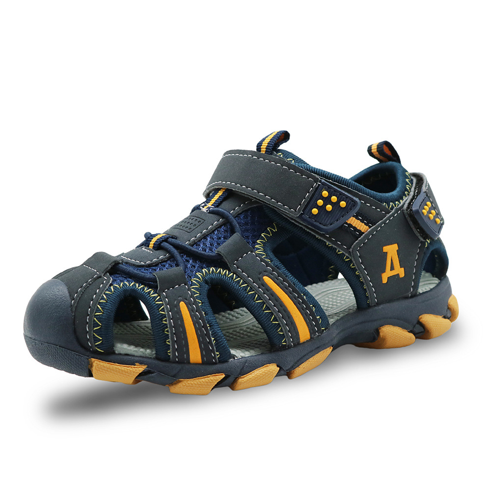 Summer beach kids sandals for girls summer shoes rubber closed toe Kids sport boys sandals children shoes 2018 New