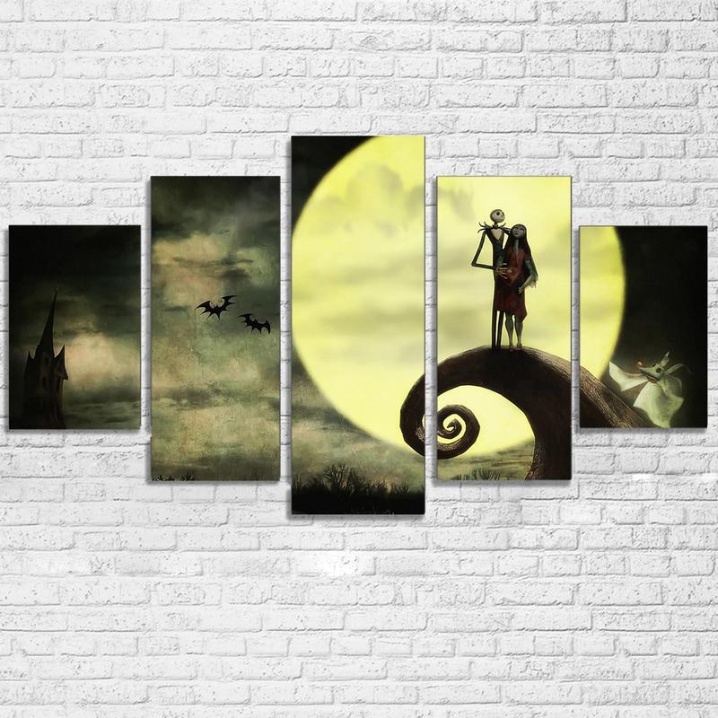 The Nightmare Before Christmas Wall Sticker Halloween Vinyl Decal