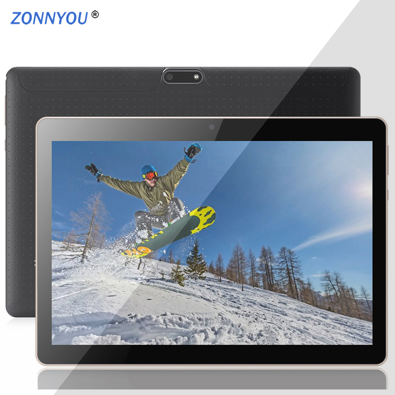 10.1 Inch Android Tablet Android 3G Phone Call Tablet PC Android 7.0 Octa Core 4GB+64GB GPS Wi-fi Bluetooth GPS Tablet PC