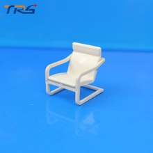 Teraysun Mini model toy resin scale chair 1/50 ABS plastic Chair  Miniature Scale Model 50pcs for building kits