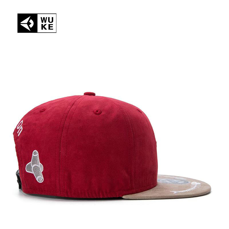 494b8214ef3  WUKE  2017 5 Panel Snapback Cap For Men Women Skateboard Baseball Hat Bone  Masculino Gorras Planas Hip Hop Casquette De Marque-in Baseball Caps from  Men s ...