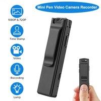 BOBLOV A3 HD 1080P Mini Small Camera Camcorder Body Police Pen Camera Mini DVR Security Video Recorder for Teaching Bicycles