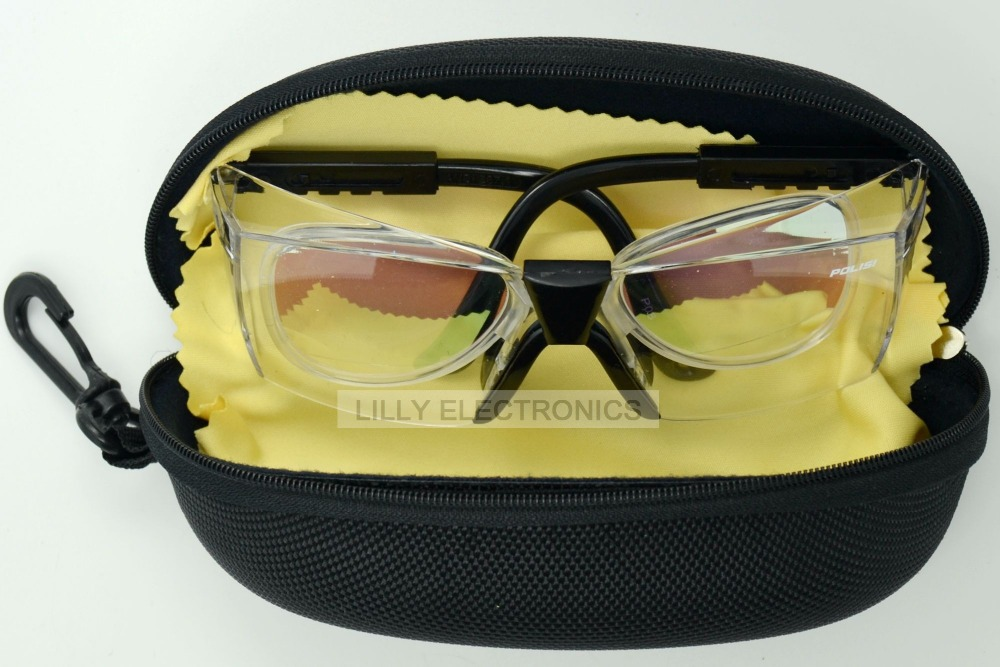 Double-Frame Protection Goggles Glasses Eyewear for CO2 Carbon Dioxide Laser 10600nm 10.6um ep co2 protection laser goggles safety glasses eyewear for 10600nm co2 od5
