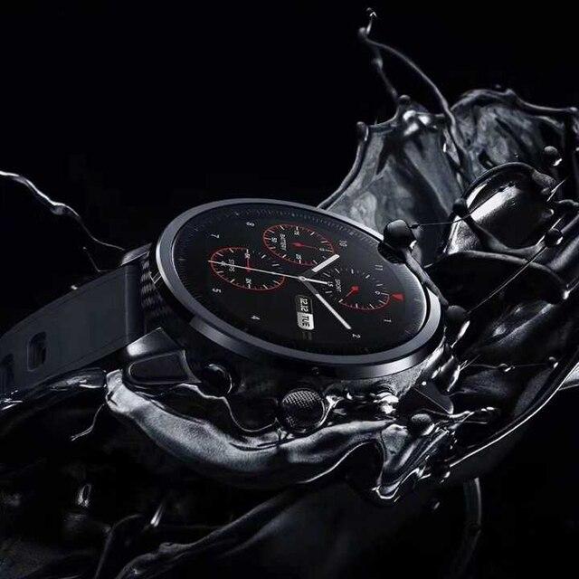 1fda632db369 Xiaomi Huami Amazfit Smartwatch 2 Chip Alipay Bluetooth 4.2 Bidirectional  Anti-Lost IOS 4GB Smart Electronics Android Watch GPS