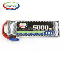MOSEWORTH 3 S 11.1 v 5000 mah 25c RC lipo batterie pour rc hélicoptère avion Li-ion batteria AKKU cellulaire livraison gratuite