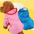 6 Colores Perro Abrigo Impermeable Ropa de Lluvia Impermeable Con Capucha Chaquetas Capa Del Perro Ropa Para Perros Ropa Para Mascotas Envío Gratis
