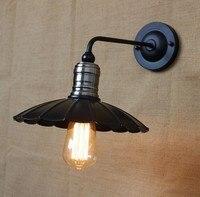 Estilo Loft Decorativo Parede Edison Industrial Luminárias Sconce Luz De Parede de Cabeceira Do Vintage Lâmpada de Parede Para Iluminação Interna do Repouso