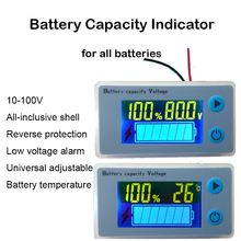 10 S 13 S 14 S Lityum Pil Kapasitesi Göstergesi Güç lcd ekran Sıcaklık Sensörü Düşük Voltaj Alarmı 36 V 54 V 58 V Li ion Test Cihazı