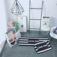 Baby Crawling Mats For Living Room Short Plush Solid Rectangle Carpets Bedroom Doormat Living Room Balcony