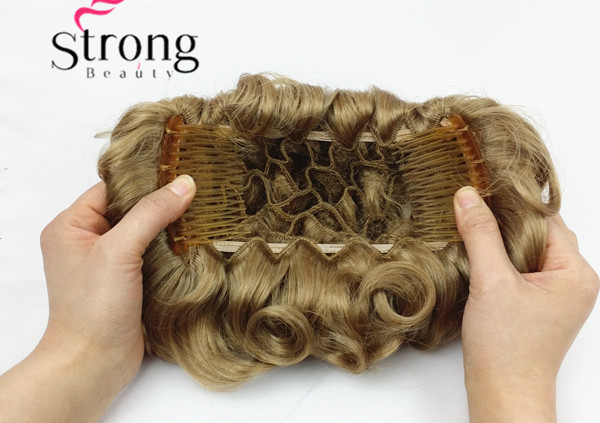 Short messy curly dish hair bun extension easy stretch hair combs short messy curly dish hair bun extension easy stretch hair combs clip in ponytail extension scrunchie chignon tray ponytail in hair clips pins from pmusecretfo Gallery