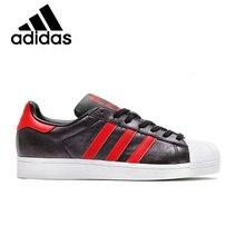 41967fd74 Adidas Superstar Originais Sapatos de Skate Das Mulheres Dos Homens Unisex  Tênis Respirável Lazer Calçado Super