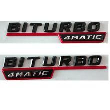 Глянцевый блестящий блеск biturbo 4matic пластиковый автомобильный