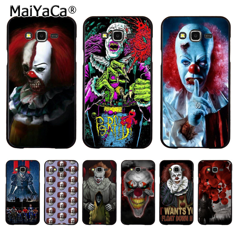 MaiYaCa Pennywise The Clown Horror Coque Shell Phone Case for Samsung J1 J3  J5 J7 Note a2f4aa5723