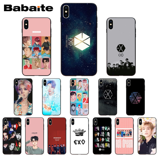 Park Chanyeol Exo Star Kpop Exo Lucky One Cute Phone Accessories