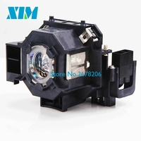 ELPLP41 Replacement Lamp With Housing For Projector Epson S5 S6 77C 8 EMP S5 EMP X5