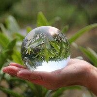 80 90 100mm Ogromne Jasne Azji Quartz Crystal Ball Kula Fengshui Szkła Rzemiosło Dekoracji Domu Ozdoby Wesele Souvenir