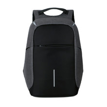Фотография Female and men Backpack Anti theft  Oxford Casual Laptop Backpack With USB Charge Waterproof Travel Bag Computer Bag Bagpack