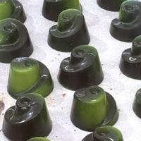 PC Polycarbonate Chocolate Mold Drop Water Lemon Lotus Shape Candy Fondant Mould Ice Cube Jelly Making