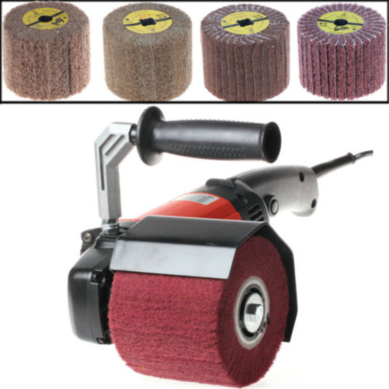 1200W 110V Burnishing Polishing Machine Polishing Wheel Pad /Polisher/Sander Set 40pcs 80 2000 grinding machine round sand paper disc flocking sandpaper mirror polishing tools polisher sander burnishing sandi
