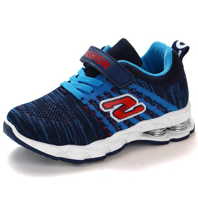 קיץ קמפוס ספורט ילדי נעלי בנים מקרית Sneaker אופנה בית ספר ילדים רך נעלי ריצה עבור בנות אנטי חלקלק חיצוני