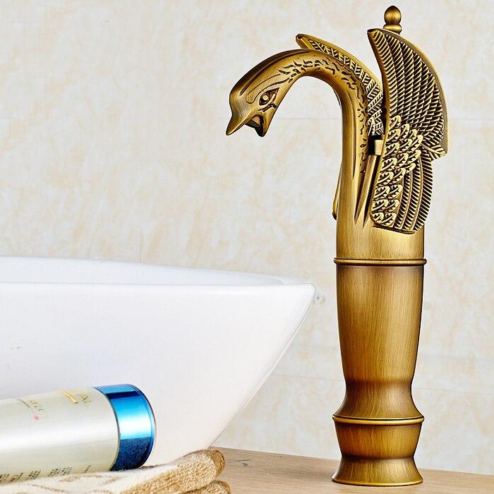Здесь можно купить  L16009 - Luxury Deck Mounted Bronze Color Brass Basin Faucet  Строительство и Недвижимость