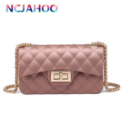 New Style Long Gloden Chain Candy Color Jelly Bag Women Fashion Messenger Handbag Silicone Bags In Clutches From Luggage On Aliexpress Alibaba