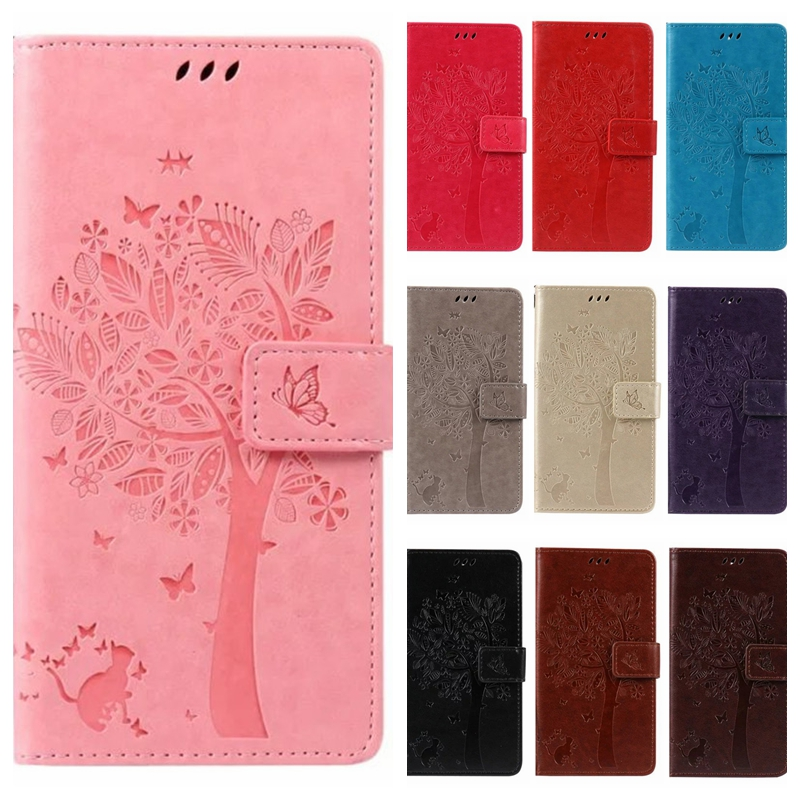 Leather case for coque LG K8 Lte K350 K3