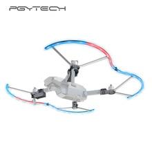 PGYTECH pour DJI Mavic Pro LED garde dhélice avec coloré 14 Mode déclairage Drone de protection dhélice accessoires Mavic Pro