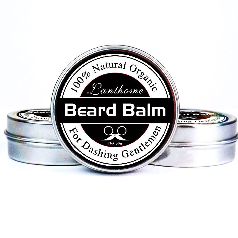 1 PCS Profession Men Beard Care Cream Moustache Beard Balm Natural Organic Treatment for Beard Growth Grooming Care Aid 30g H7JP 5