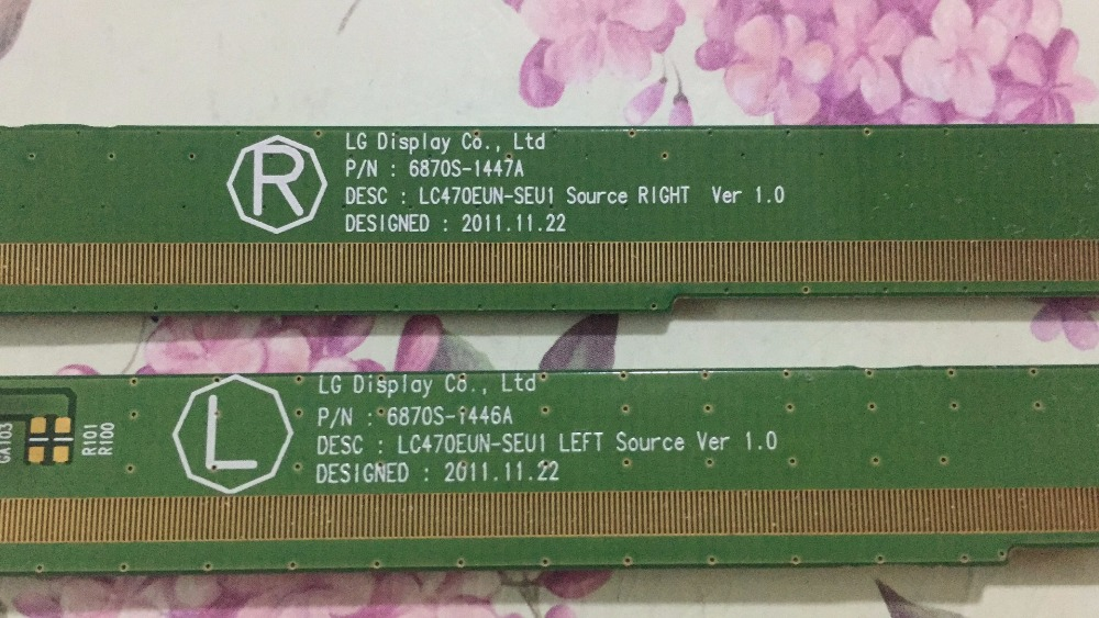 A Pair 6870S 1446A 6870S 1447A LCD Panel PCB Parts