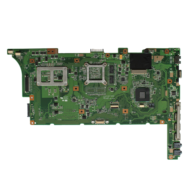 Original  For ASUS K73SJ K73SM K73SV K73SD A73S X73S laptop motherboard GT520M 1G REV 2.3 HM65 DDR3  100% fully Tested 1