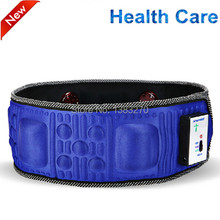 2017 infrared therapy heated tummy slim belt vibration mnassage belt with heat LHM-FIT02A