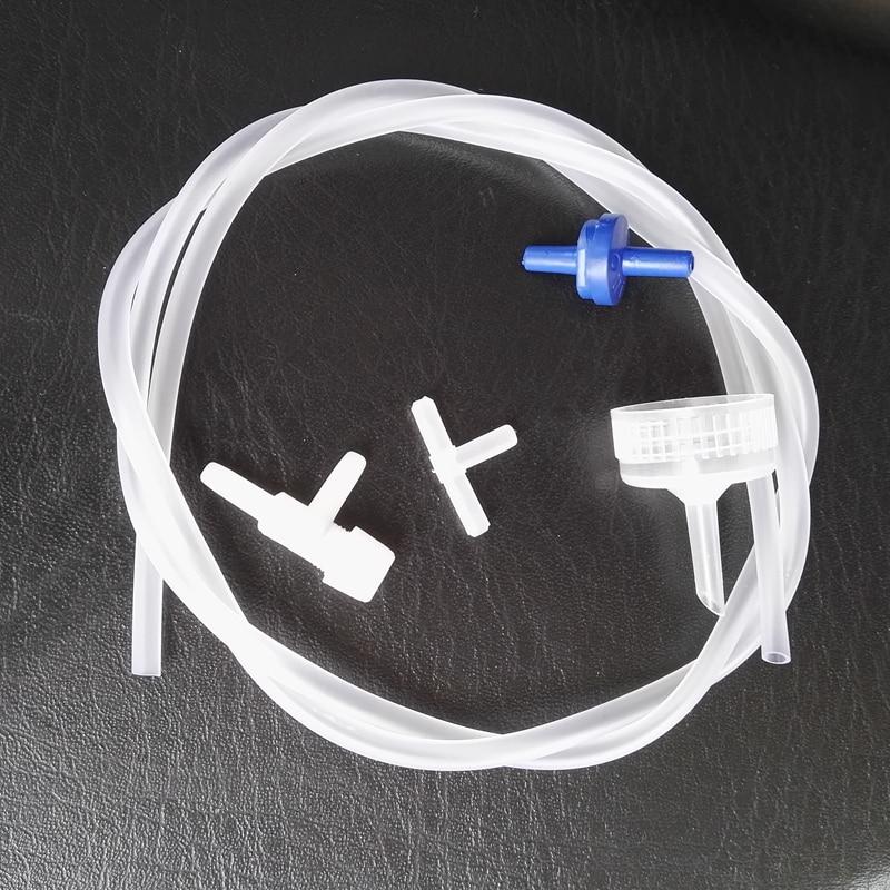2 sets of simple brine shrimp eggs hatching kit incubate oxygen connect  accessories for aquarium fish tank