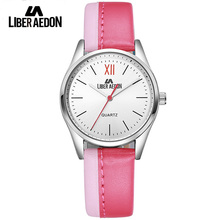 Liber Aedon Top Luxury Dress Women Watches Brand Ladies Waterproof Wristwatch Fashion Leather Strap Female Military Watch Clock