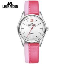 Liber Aedon Top Luxury Dress Women Watches Brand Ladies Waterproof Wristwatch Fashion Leather Strap Female Military Watch Clock