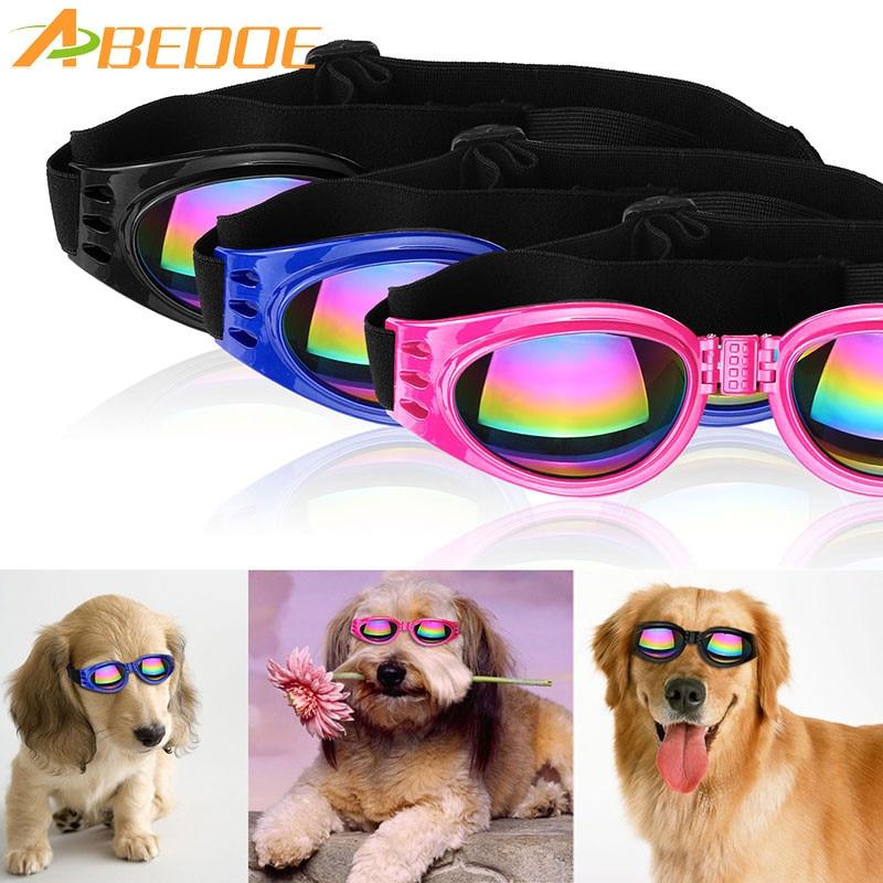 Pet Dog UV Sunglasses Sun Glasses Glasses Goggles Eye Wear Protection Fashion