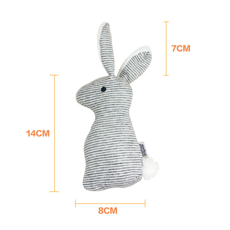 0-12M Lovely Baby toys Rabbit bunny Rattle mobile para bebes jouet musical hand stick plush bed crib toys brinquedos juguetes
