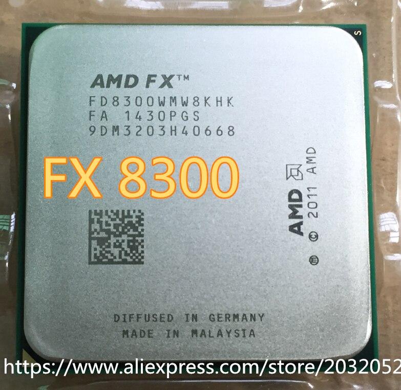 FX 8300 Eight-Core 3.2G/8M/95W Processor Socket AM3+ CPU Bulk Package FX-8300 (working 100% Free Shipping)