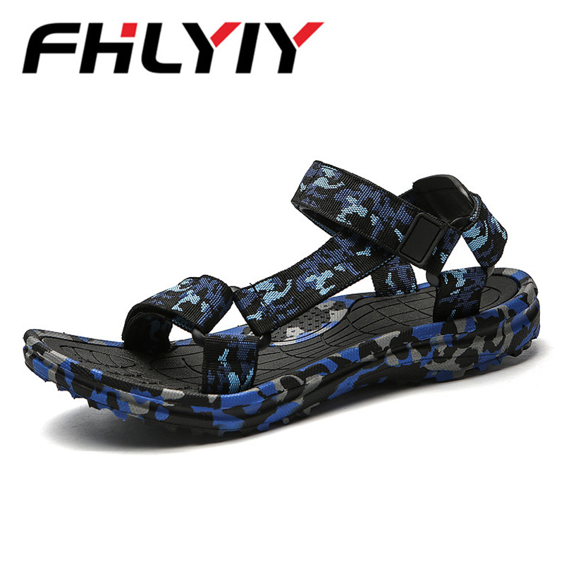 Flat Sandal Slipper Flip-Flops Man Shoes Comfortable Camouflage Casual Summer Fashion title=