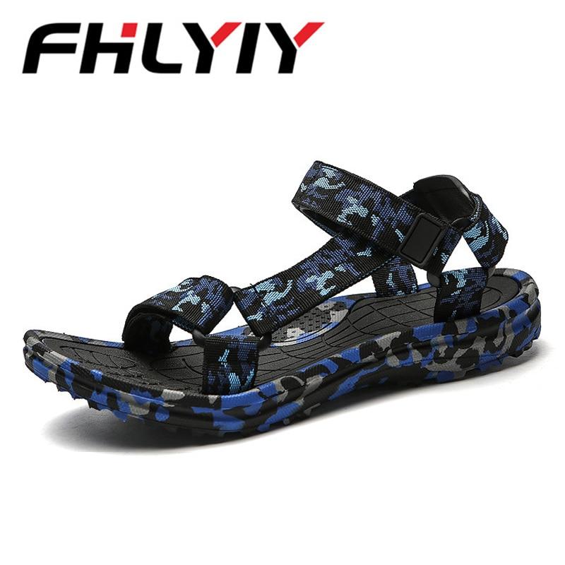 Summer Men Sandals Camouflage Slipper Men Sandals Comfortable Man Shoes Fashion Sandalia Masculina Casual Flip Flops Flat Sandal