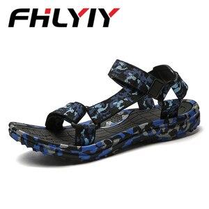 Summer Men Sandals Camouflage