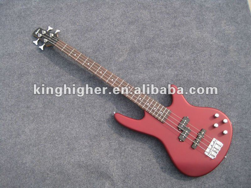 Nouveau FB-001 de guitare basse color4 rouge