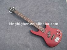 new Red color4 string bass guitar FB-001