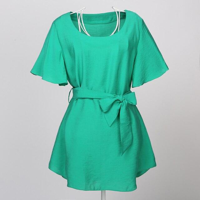 cbb784864337d women blouses cotton rayon tops green gypsy boho hippie european style  vintage design tunic woman chemise femme big size blouse