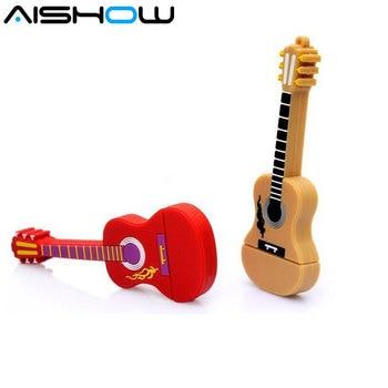 Fashion new Musical Instrument Guitar Usb Flash Drive Usb Memory Stick 8GB 16GB Flash Memory Stick Pen Drive usb Disk