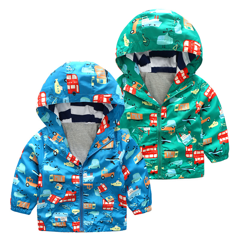 Warm Child Coat Casual Children Outerwear Kids Clothes Double-Deck Windproof Baby Boys Jackets For 3-10 Years Old