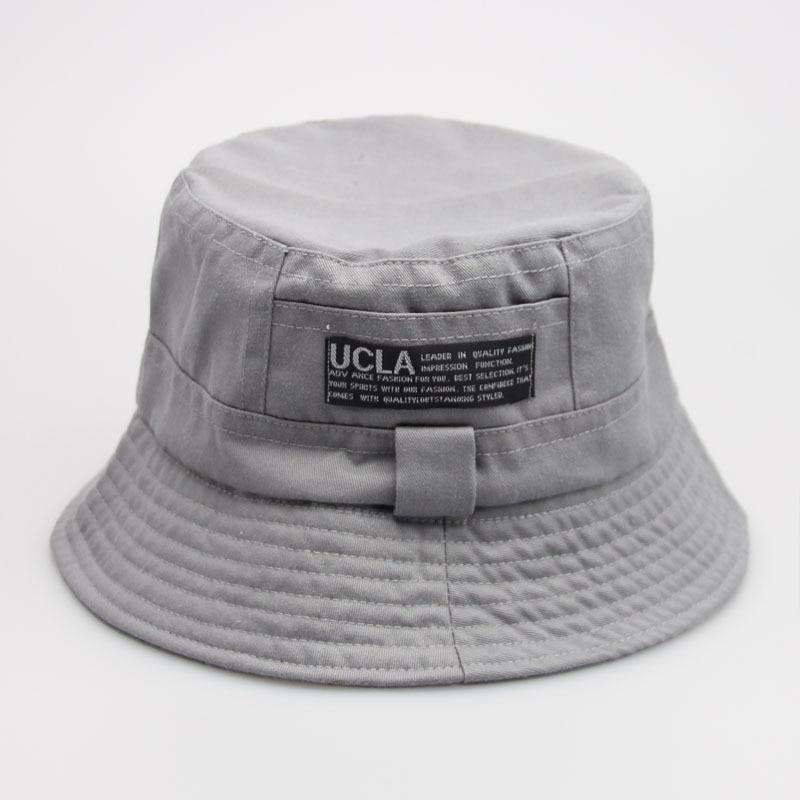 16 Fashion Cottonblend Denim Unisex Cap Bucket Hat Summer Outdoor Fishing Caps for Men and Women Flat Sun Berets HT51041+ 9