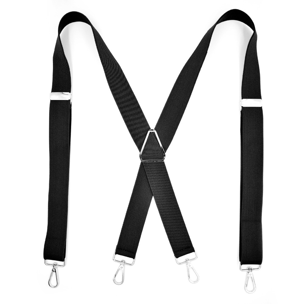 European Fashion Adult 4 Clip Men's Suspenders FY18102601