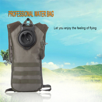 2.5L Water Bag Military Tactical Hydration Backpack Outdoor Camping Camelback TPU Camel Water Bladder Bag For Cycling Hiking A30
